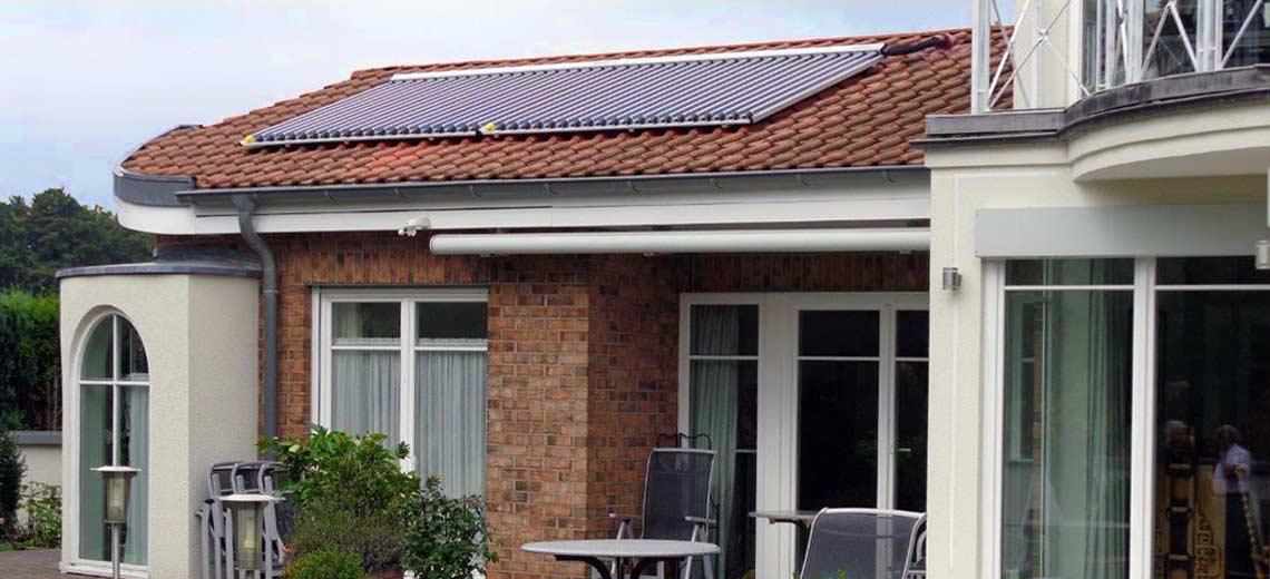 Solarheizung für Wärme in Dunningen